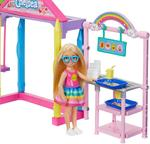 Barbie Club Chelsea Doll School Playset + Accessories