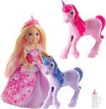 Barbie Dreamtopia Doll And Unicorns