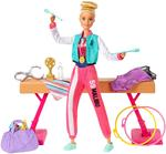Barbie Gymnastics With Doll Playset