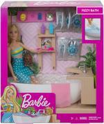 Barbie Fizzy Bath Doll And Playset