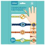Mideer Temporary Tattoos - Watches & Bracelets (Boy)