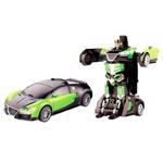 Jaki 2.4Ghz Rc Transformable Robot Car  Green