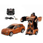 Jaki 2.4Ghz Rc Transformable Robot Car  Brown