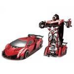 Jaki 2.4Ghz Rc Transformable Robot Car  Red