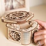 UGEARS TREASURE BOX 3D WOODEN PUZZLE