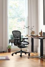 Herman Miller Aeron Remastered  Chair B Size – Graphite