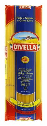 Divella Spaghettini N9 - 500gr x 4