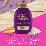 Ogx, Conditioner, Thick & Full - Biotin & Collagen, 385ml