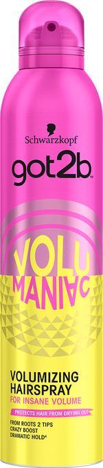 GOT2B Volumaniac Hair Spray 300ml