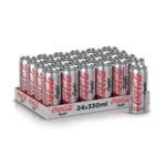 Coca Cola Light Carbonated Soft Drink, 6 Cans x 330ml