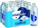 Glaceau Smartwater Bottled Drinking Water 600ml (pack of 12)