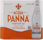 Acqua Panna Mineral Water in Glass bottle 750ml x12