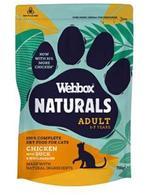 Webbox Natural - Cat Food - Chicken & Duck Dry 700g