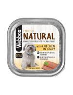 Webbox Natural Dog Chicken in Gravy 150g