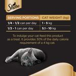Sheba Dome Prime Cuts of Tuna and Prawn Wet Cat Food Can 80gr