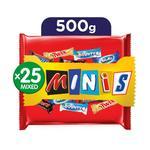 Mars Best Of Minis Chocolates 500gr