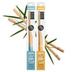 Love Beauty and Planet Medium Charcoal Infused Bristles Toothbrush