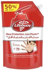 Lifebuoy Anti Bacterial Hand Wash Total 10 Refill, 1000ml