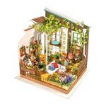 DIY Miniature Wooden Assembly Garden Fairy Dollhouse Set
