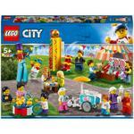 183-Piece City People Pack Fun Fair Building Toy Set 60234
