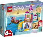 115-Piece Disney Princess Ariel's Seaside Castle Building Block Set 41160