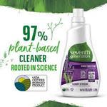 Seventh Generation Fabric Detergent Liquid Fresh Lavender, 1L x3 @ 40% off
