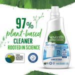 Seventh Generation Fabric Detergent Liquid Unscented, 1L x3 @ 40% off