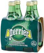 Perrier Sparkling Water Regular 330ml - Offer x4