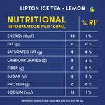 Lipton Lemon Ice Tea Non-Carbonated Refreshing Drink 320ml x6