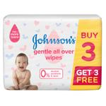 JOHNSON'S BABY GENTLE ALL OVER WIPES 72pcs BUNDLE PACK