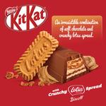 KITKAT Mini Moments with Lotus Biscoff Chocolate Pouch 262.5g