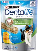 PURINA DENTALIFE DOG TREATS 198GR