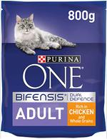 PURINA ONE Adult Cat Chicken and Whole Grains 800g