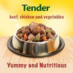 PURINA FRISKIES Beef, Chicken and Vegetables in Gravy Wet Cat Food 400g