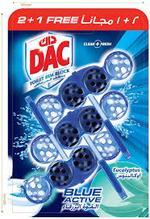 DAC Toilet Rim Block Blue Active 2+1 Free
