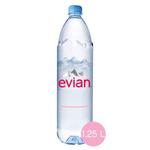 EVIAN PROMO NATURAL MINERAL WATER 1.25 L x6