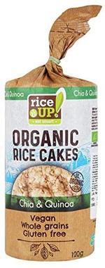 RICE CAKES CHIA & QUINOA 120G