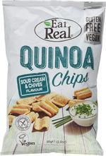 EAT REAL QUINOA SOUR CREAM & CHIVE 80G