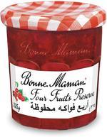 BONNE MAMAN JAM 4 FRUITS 370G