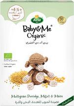 ARLA BABY&ME ORGANIC MULTIGRAIN PORRIDGE, MILLET AND MAIZE 210 G
