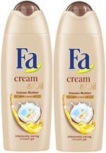 Fa Shower Cream Cocoa Butter 250ml twin pack 20% off