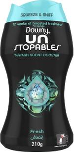 Downy Unstopables Fresh In Wash Scent Booster Beads 210g