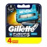 Gillette Fusion ProShield Chill Men`s Razor Blades, 4 ct