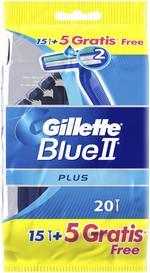 Gillette Blue II PLUS ELHDL Disposable 15+5 SENST