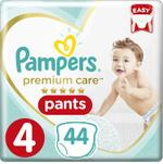 Pampers Premium Care Pants Diapers, Size 4, Maxi, 9-14 kg, Jumbo Pack, 44 ct