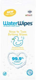 WaterWipes Nose to Toes 16 wipes