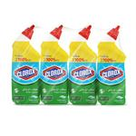 Clorox Disinfecting Toilet Bowl Cleaner Fresh Scent 709 ml Pack of Four