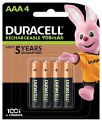 Duracel Rechargeable AAA 4 900mAh