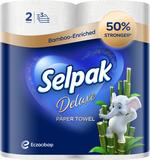 Selpak Deluxe Kitchen Paper Towel 2Rolls
