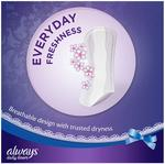 Always Liners Extra Protect 48+20 Free
